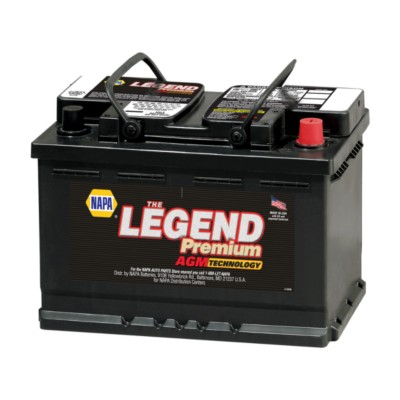 NAPA The Legend Premium AGM Battery BCI No. 48 760 A Glass Mat BAT 9848-1
