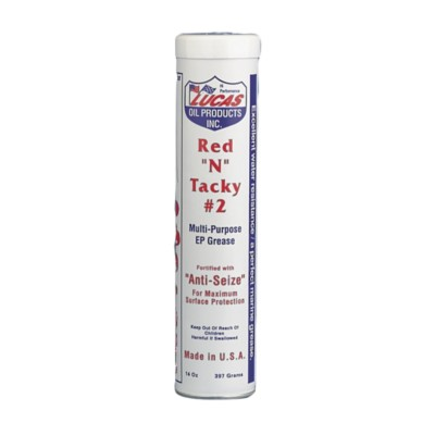 Lucas Oil Red N Tacky #2 Multi-Purpose Grease - 14 5 oz LUC 10005