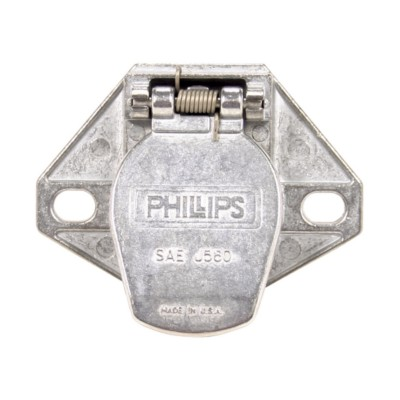 Trailer Connector Cord Sockets Phillips Industries PHI 15721 | Buy on trailer plugs, trailer hitch harness, trailer mounting brackets, trailer generator, trailer fuses, trailer brakes,