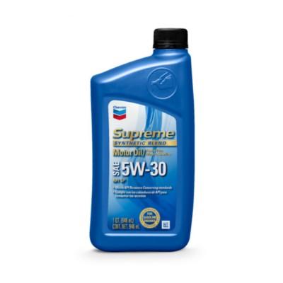 Chevron Supreme 5W30 Motor Oil - 1 qt CHV QT46723