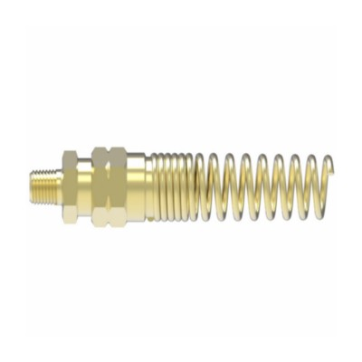 CA360 Brass EATON Weatherhead 33808B-Y38 Male Connector Fitting 1//2 Hose ID 1//2 Pipe Size 1//2 Hose ID 1//2 Pipe Size Spring Guard