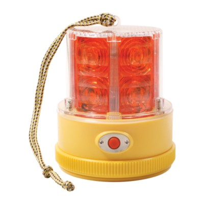 Lamp Emergency Portable Battery Operated Led Warning Red Gro 77912