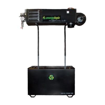 140H Heater - Waste Oil, 140,000 BTU w/ 250 gal Tank & Flue Kit