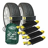 Vehicle Recovery Device, Tire Traction, Car ATV & Mini Van, Trac-Grabber, 4 Pack BK TGC02