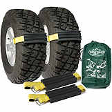 Vehicle Recovery Device, Tire Traction, Truck & SUV, Trac-Grabber, 2 Pack BK TGT01