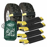 Vehicle Recovery Device, Tire Traction, Truck & SUV, Trac-Grabber, 4 Pack BK TGT02