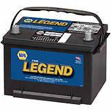 NAPA The Legend Professional Battery BCI No. 58 500 A Wet BAT 7558