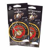 Elektroplate Air Freshener - Marine Corps - 2 Pack BK MRNSLFRESH
