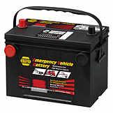 NAPA Emergency Battery BCI No. 34 BCI No. 78 800 A Wet BAT 91XDT34