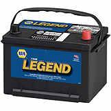 NAPA The Legend Professional Battery BCI No. 58R 580 A Wet BAT 7558R