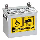 NAPA Rechargable Gel Battery BCI No. U1 200 A Gel BAT 8228