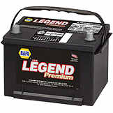 NAPA Battery BCI No. 58 580 A Wet BAT 8458