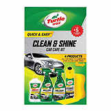 Detailing Kit - Turtle Wax Clean & Shine Car Care Kit TW T2014XU