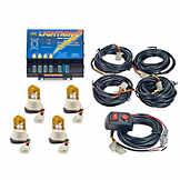Wolo 4 Bulb Strobe Light Kit AAG AG0426600003