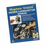 Techbook Weber Carburetor Manual BK 7991937