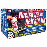 A/C R134a Refrigerant Recharge & Retrofit Kit BK 7652979