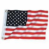 "U.S./ US / American Flag 12.0"" H x 18.0"" L BK 7511070"