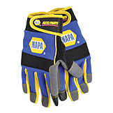 Gloves NAPA Touch Screen Technician Gloves Amara Synthetic Leather Palm / Spandex Back/Touch Screen Fingers BK 8992594