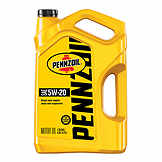 Pennzoil Motor Oil 5W20 Conventional 5 qt (US) PEN 550045210