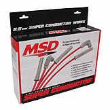Spark Plug Wire Set - Hi Perf - MSD Ignition BK 7357264