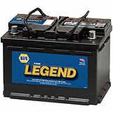 NAPA The Legend Professional Battery BCI No. 48 680 A Wet BAT 7548