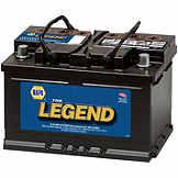 NAPA The Legend Professional Battery BCI No. 91 700 A Wet BAT 7591
