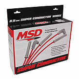 Spark Plug Wire Set - Hi Perf - MSD Ignition BK 3353810