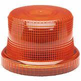 Beacon Light Lens Amber Electronic Controls / ECCO BK 7303118